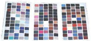 Michelle's Rug Binding Colors -  Contact us for a price quote today! Our prices are reasonable,